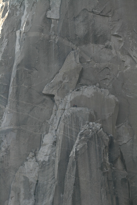 People on the wall of Elcapitan
